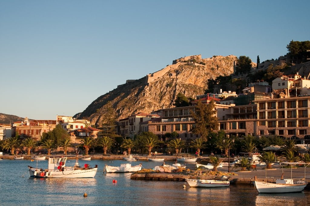 Nafplion Greece  City pictures : Traveling with travel brochures: Nafplion, Greece