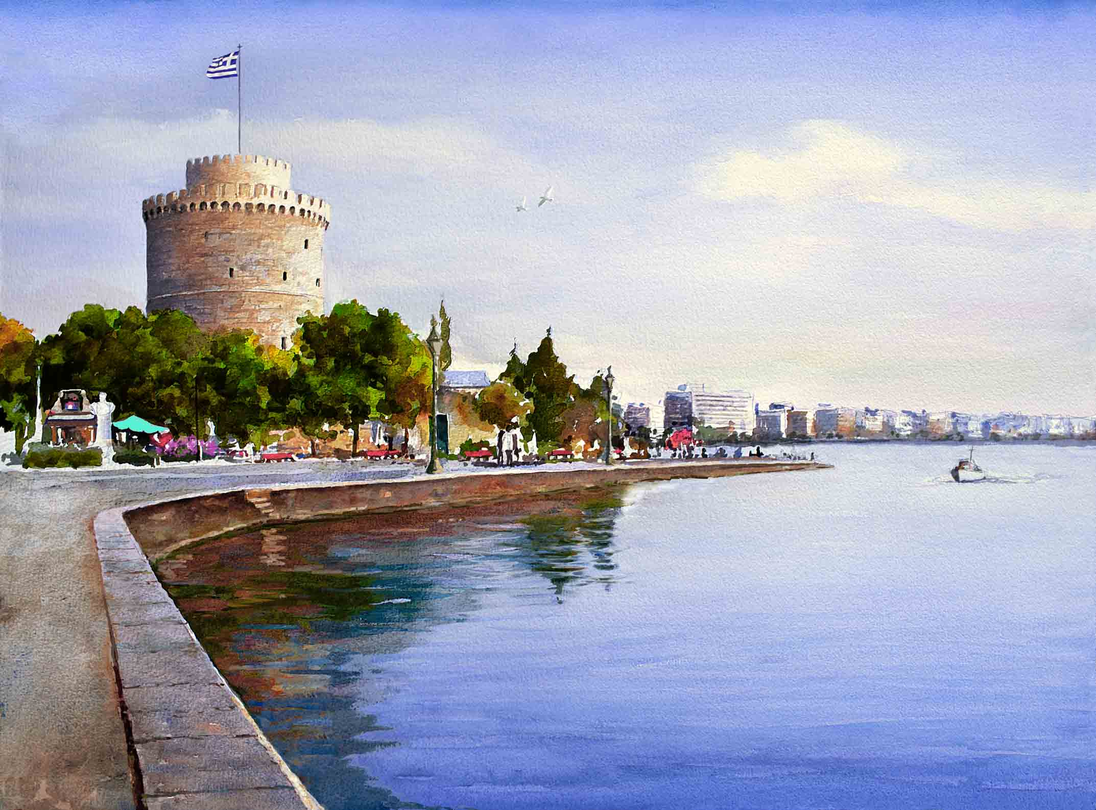 Splendid Greece Tours  Tour Greece  Thessaloniki White Tower