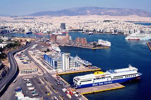 Piraeus passengers port transfers