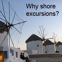 Why shore excursions?